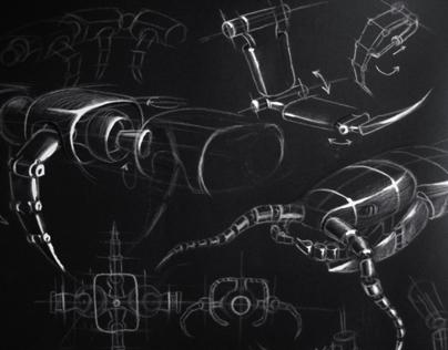 Bionic robot (scolopendria)