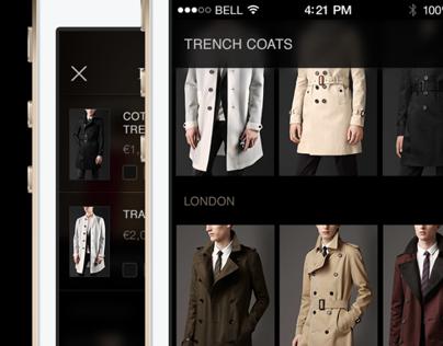 BURBERRY - App concept