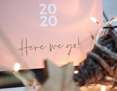 Here we go! 2020 calendar