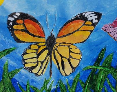 Children's Art K-5 (Class taught by Chloe Jeehye Noh)