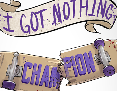 Fall Out Boy - Champion Illustration