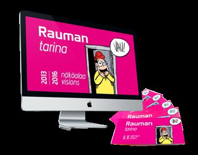Rauman kaupunki, Rauman tarina | Branding