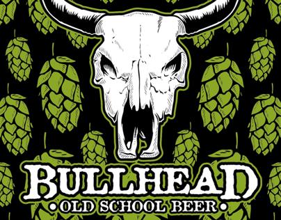 Etiqueta Growler Cerveza Bullhead