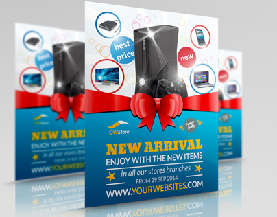 New Arrival Flyer Template Vol.2
