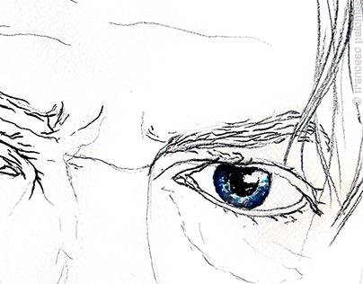 EYES  [in memoriam David Bowie]