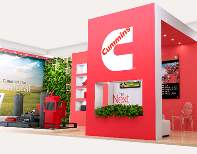 Cummins`s Stand : NGV Colombia 2013