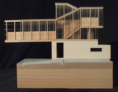 Work House - Section Model
