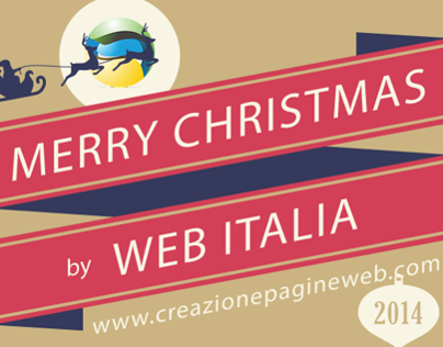 Merry Christmas 2014 - Web Italia
