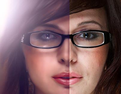 (retouching ) Photoshop