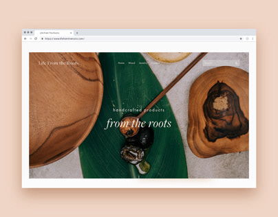 Life From The Roots Website Design