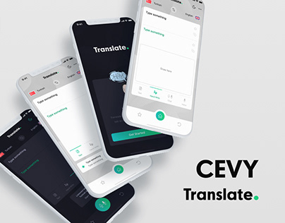 Cevy - Translate App Ui Kit
