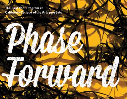 Phase Forward: First Year Exhibition 2013