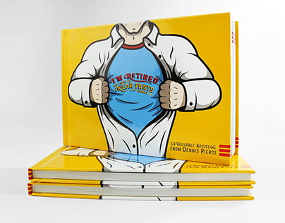 Book Design–I'm retired. Do I have to wear pants today?