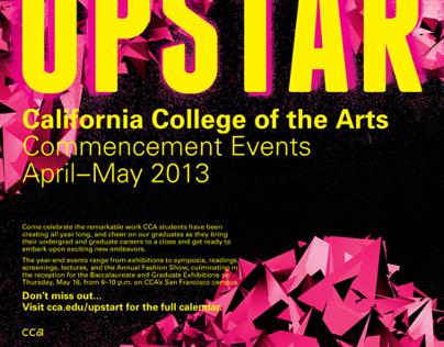 Upstart CCA Commencement Events