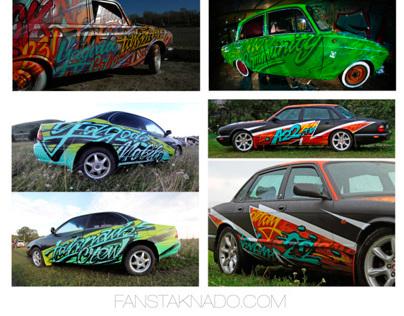 Graffiti Cars