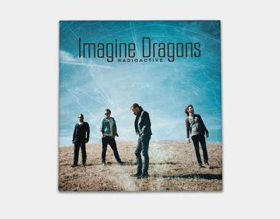 Imagine Dragons Radioactive CD Cover