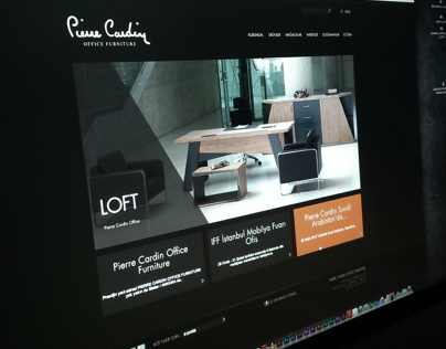 Pierre Cardin Office Furniture - Web Design