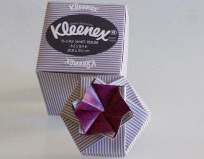Kleenex Tissue Box (Gift Box Re-Use)