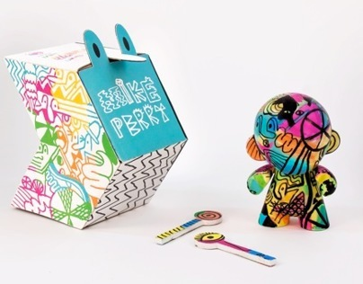 Mini Munny Doll - Mike Perry