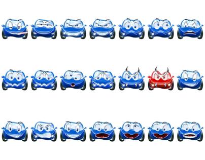 Cars - Logo, Emoticons & Website