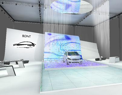 BYD Exhibition Booth Design