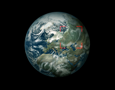 """[JAPAN] SBI """"SEARCH THE CIRCLE CAMPAIGN"""" x Google Earth"""