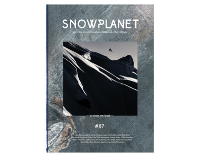 Snowboard Magazine. Snowplanet 87