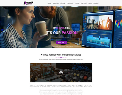 A Art Of Motion – All Type Video Making Service