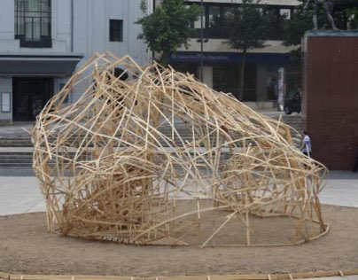 Sculpture for the festival SET