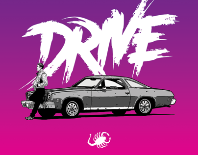 DRIVE - TRIBUTE POSTER