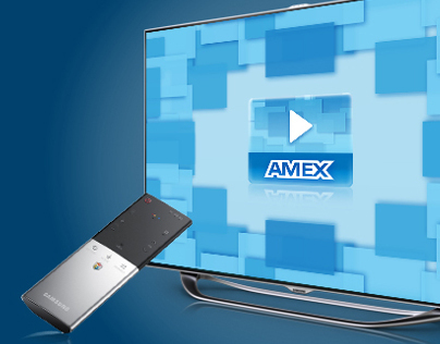 Amex Now Smart TV App for American Express