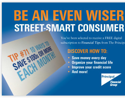 Direct Mail Campaign for The Principal