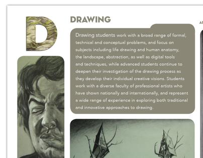 Edinboro University Art Department Postcards