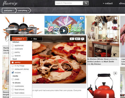 Flavorize website after we pivoted