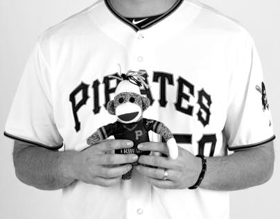 Pittsburgh Pirates Promo Photo Shoot 2013