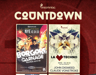 Insomniac Events  |   NYE CountDown