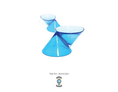Take Two - Bombay Sapphire martini glass design