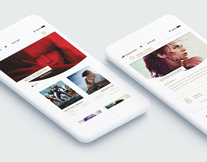 UI Design: Movie Booking App
