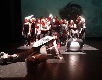 Alice direct by Carlos Pessoa with Teatro da Garagem