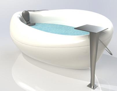 Pebble - Bath tub