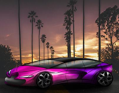 Car Design by aysenur engin