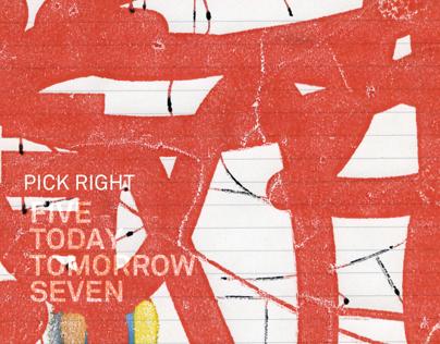 Pick Right Album Cover