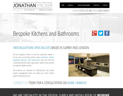 Jonathan Packer Bespoke Kitchens and Bathrooms