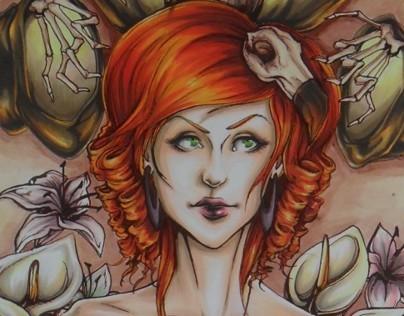 Trinity Witches Series: The Necromancer