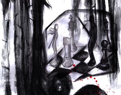 """Illustration for """"Burnout"""""""