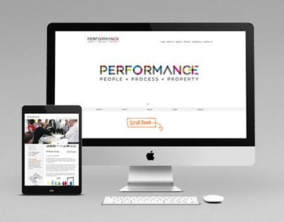 Performance + Website
