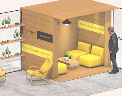 Stands modulares - Mercadolibre 2020