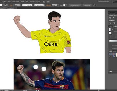Proceso para elaborar la ilustración