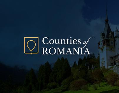 Counties of Romania