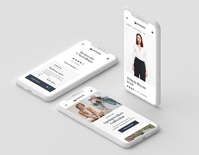 Mirror - Responsive Fashion Website